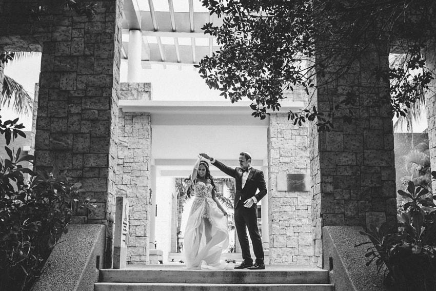 Sonia & Jack Jewish Wedding At @ Banyan Tree Riviera Maya